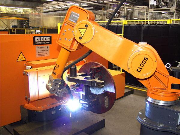 Svářecí robot CLOOS Romat