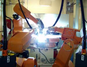 Mechanika průmyslových robotů ROMAT